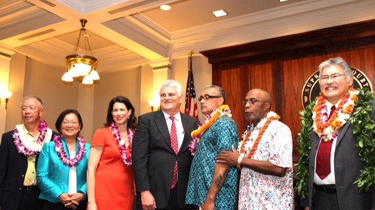 Honolulu Veterans Court Graduation