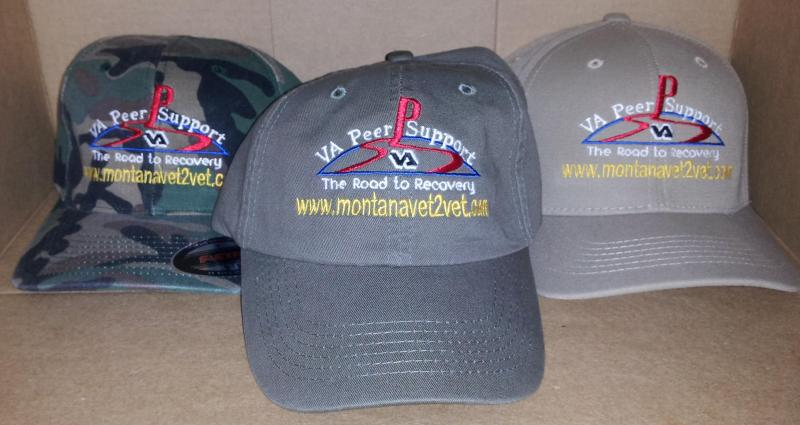Three Montana Vet 2 Vet Hats