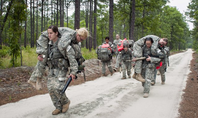 Women Veterans on Patrol